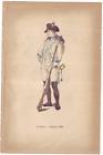 Saar Uniform 1789 51e Infanterie La Sarre CaporalAltdeutschland - 34641