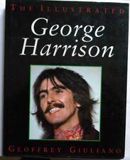 THE ILLUSTRATED GERGE HARRISON GEOFFREY GIULIANO 1993 ENGLISH