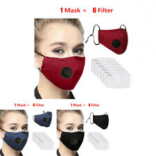 Anti Pm2.5 Anti Haze Fog Cotton Face Mask Activated Carbon Filter Mouth Muffle