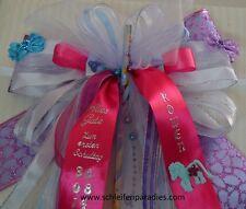 003 D, Schleife Schultüte, Zuckertüte, Geschenkschleife nach Ihren Angaben -Name