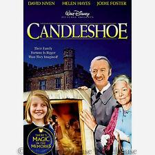Hidden Pirate Treasure Family Estate Jodie Foster Disney Comedy Candleshoe DVD