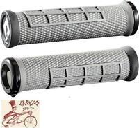 ODI ELITE FLOW LOCK-ON GRAPHITE BMX-MTB BICYCLE GRIPS