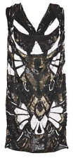 STUNNING ALL SAINTS GABRIEL 100% SILK EMBELLISHED SEQUIN DRESS SIZE UK 8-10 £235