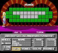 Wheel Of Fortune Junior Edition - NES Nintendo Game
