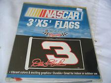 DALE EARNHARDT Sr. 2 sided NASCAR Flag 3' x 5' NEW In Package