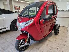 Econelo Kabinenroller Mopedauto 3 Dreirad Elektrofahrzeug 10kmh 25kmh 45kmh