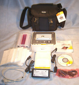 KODAK EASYSHARE G600 Picture Printer Dock CD Paper Color Cartridge AC Cord Case