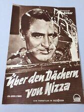 Illustrierte FILM-BÜHNE 'Über den Dächern von Nizza' Grace Kelly & Cary Grant