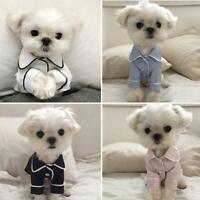 Hot Pet Dogs Pajamas Cute Luxury Soft Pajamas Puppy Dog Cat Shirt Clothes