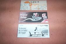 LOT DE 3 MINI-RECITS BD format italien