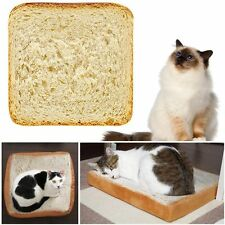 Pet Supplies Toast Cushion Cat Plush Toy Simulation Bread Slices Soft Pillow