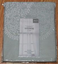 "JCP HOME ROD-POCKET SHEER PANEL, ""MAURA"" 50""X84"""