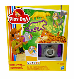 Play-Doh Classic Camera Retro-Inspired Toy with 5 Non-Toxic Colors - NIB