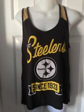 Pittsburgh Steelers  Women's Small 2-Tone Tank Top by Junk Food