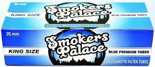Smokers Palace Blue (Light) King Size Cigarette Filter Tubes 200 Count Box