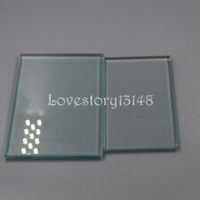 2 Pcs Small Large Size Used To Mix Dental Compositions Lab Mixing Glass Slab