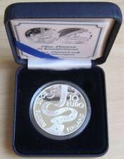 Finnland 10 Euro 2002 Elias Lönnrot Silber PP