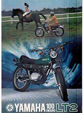 1972 Yamaha 100 Single Enduro LT2 factory original sales brochure(Reprint) $9.00