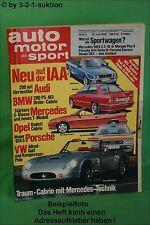 AMS Auto Motor Sport 13/85 Porsche 944 Turbo Morgan Plus 8 DB 190E 2,3