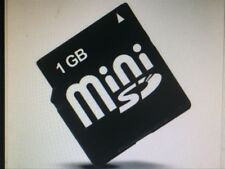 1GB memory card phone card MINISD Card with MiniSD card adapter 1GB Mini SD Card