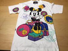 Vtg 80s MINNIE MOUSE Disney EPCOT Center T Shirt Size Large S/M