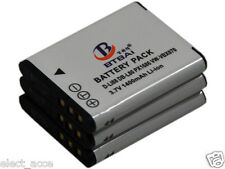 3 Battery for Sanyo VPC-PD1 VPC-PD2 VPC-GH1 VPC-GH2 VPC-GH3 VPC-GH4 VPC-CS1 CG88