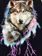 Wolf Shirt Native American Indian Sleeveless S