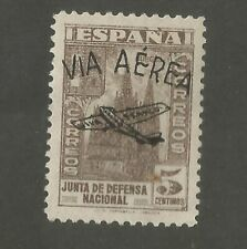 Spain civil war air mail provisional for IFNI