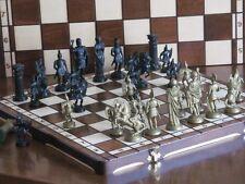 Brand New ♚ Roman Design Chess Set♞ Great Board