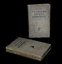 [POESIE PHILOSOPHIE ESOTERISME THEOLOGIE] BLAKE (William) - Livres prophétiques.