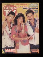 NUOVA GUIDA TV MONDADORI 27/1991 ANNA MARCHESINI TULLIO SOLENGHI MASSIMO LOPEZ