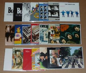 A BUNDLE OF 20 THE BEATLES OFFICIAL ALBUM COVER GREETINGS CARDS ASSORTED DESIGNS