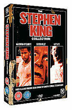 STEPHEN KING MOVIE COLLECTION DVD New Cats Eye Maximum Overdrive Silver Bullet
