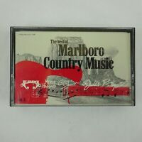The Best of Marlboro Country Music Volume 3 Cassette Various Artists