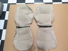2013 Nissan Altima OEM front seat cover set tan power drivers