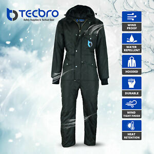 Tecbro Chill Bloc Men's Insulated Coverall Extreme Cold Weather Freezer Suit -50