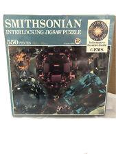1989 Smithsonian Interlocking Jigsaw-550 pc-GEMS-NEW!