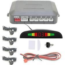 Universal Car Parking 4 Sensors Reverse Rear Buzzer Radar Sound Alarm System kit