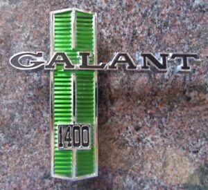 Galant 1400 guard badge - Chrysler