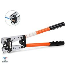 Battery Terminal Crimper Wire Stripper Lug Crimp Tool Cable Electric Plier NEW
