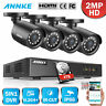 ANNKE 5IN1 4CH 1080P Lite DVR HD 2MP CCTV Outdoor Smart Security Camera System