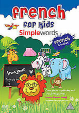 French For Kids - Simple Words (DVD, 2010)