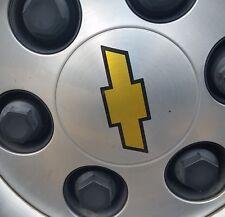 "CHEVY CHEVROLET WHEEL RIM CENTER CAP LOGO DECALS  3"" x 1"", A SET OF 4 STICKERS."