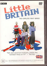 LITTLE BRITAIN - DVD The Complete First Series - 2 disc set  LIKE NEW  FREE POST