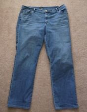 Lee Relaxed Fit Jeans 16 M At the Waist Straight Leg Premium