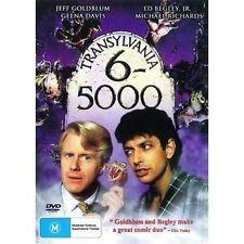 TRANSYLVANIA 6-5000 DVD=JEFF GOLDBLUM=REGION 0 AUSTRALIAN=BRAND NEW AND SEALED