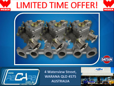 Suits Datsun 240Z 260Z 280Z L28 GENUINE WEBER Triple 40 DCOE Carburettor Kit