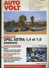 (5A) AUTO VOLT OPEL ASTRA 1,4 et 1,6 essence Janvier 1993 N° 686
