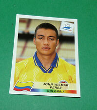 N°453 JOHN WILMAR PEREZ COLOMBIA PANINI FOOTBALL FRANCE 98 1998 COUPE MONDE WM