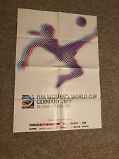 RARE! 2011 Womens World Cup Event Poster New NICE! USA 2019 Germany
